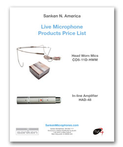 Sanken Price Sheet Live
