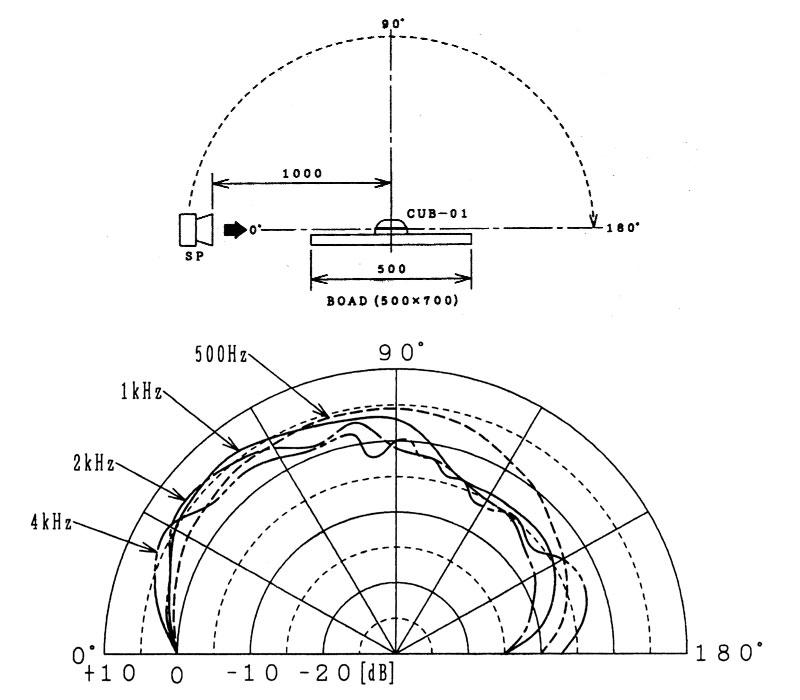 CUB-01 Polar Pattern