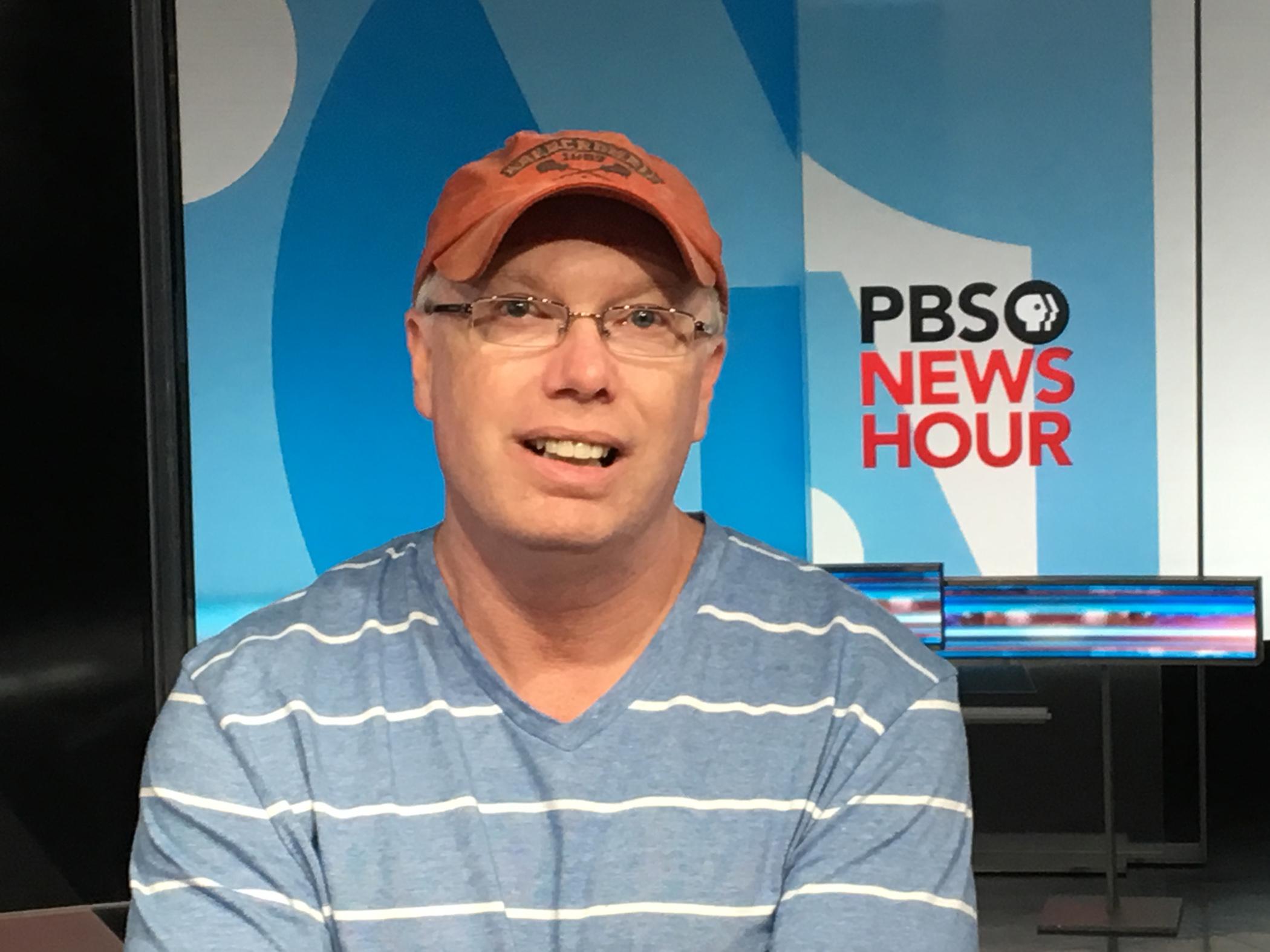 PBS NewsHour Audio Supervisor Tom Satterfield