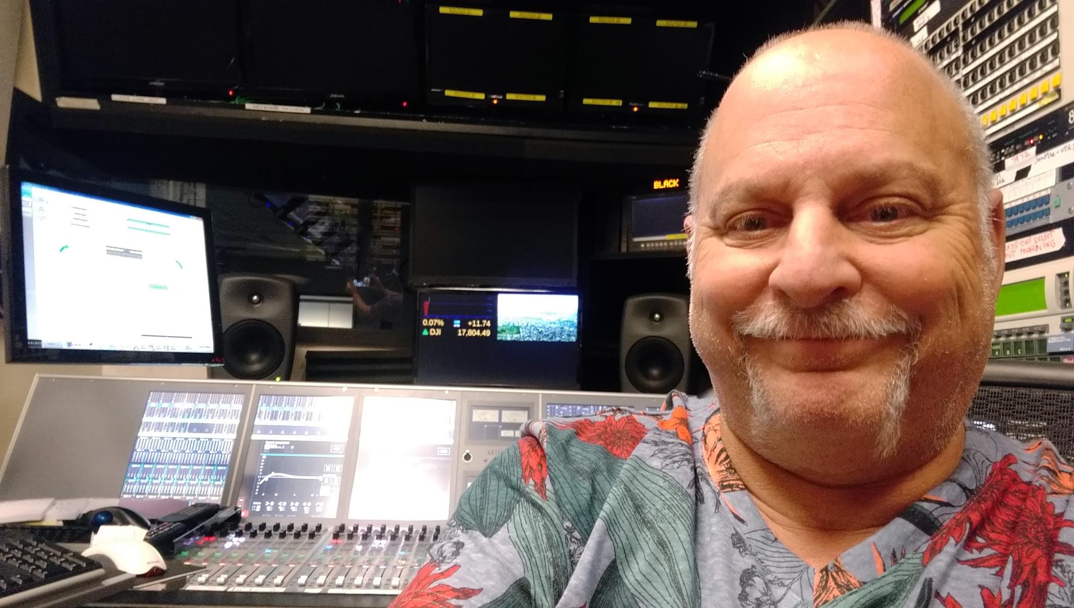 CBS Greg Shaffir A1 audio technician/mixer