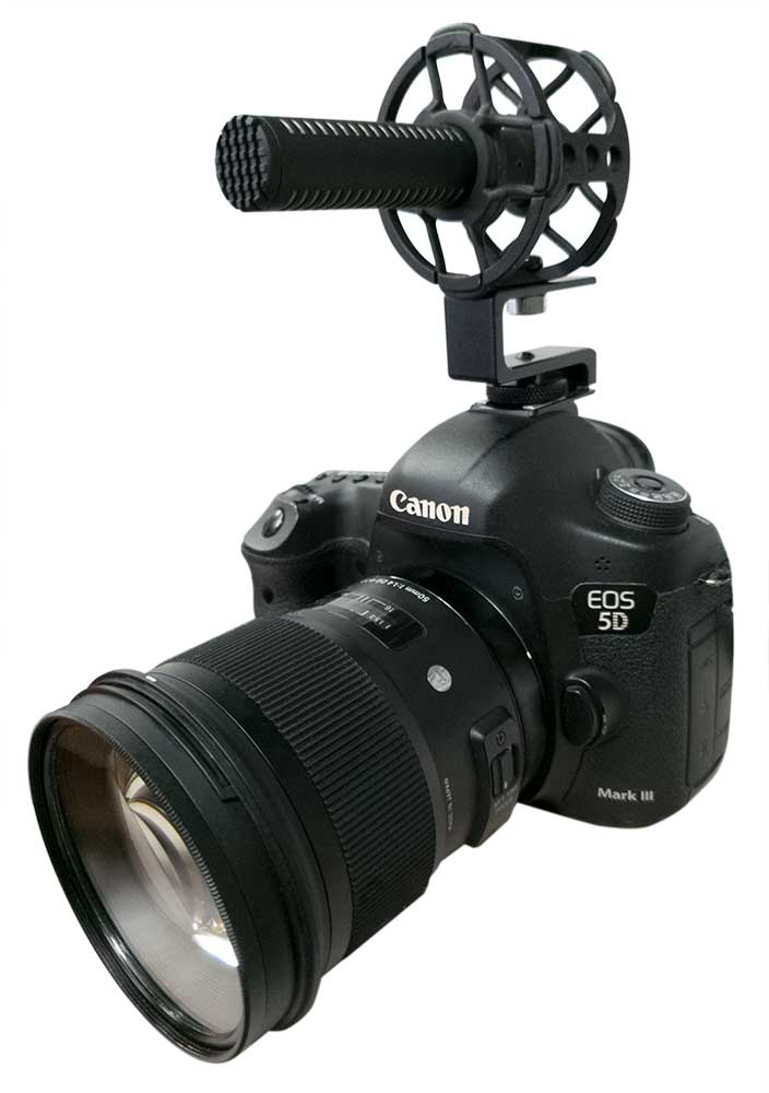 CS-M1 ShotGun Mic DSLR Mounted