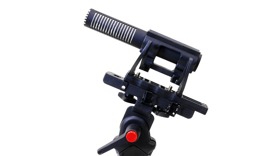 CMS-50 is shown with the optional GS-23 shock mount