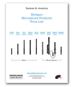 Sanken Price Sheet Shotguns